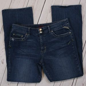 Jessica Simpson Embroidered Bootcut Jeans